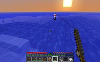Как рыбачить в майнкрафте