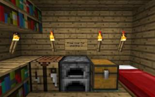 Как в майнкрафте сделать печку