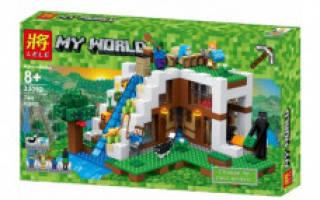 Minecraft my world конструктор