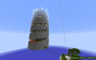 Minecraft parkour spiral 2