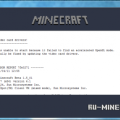 Bad video card drivers minecraft windows 7 как исправить