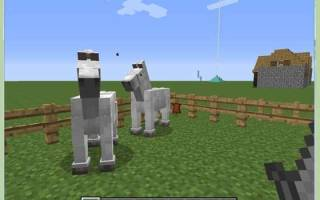 Как размножать лошадей в майнкрафте
