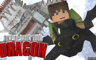 Майнкрафт мод на драконов