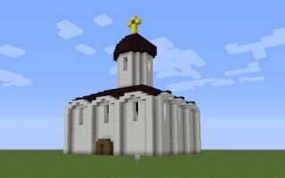Как в майнкрафте построить церковь