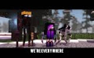 Cold as ice a minecraft original music video