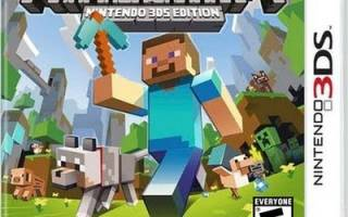Minecraft new nintendo 3ds edition