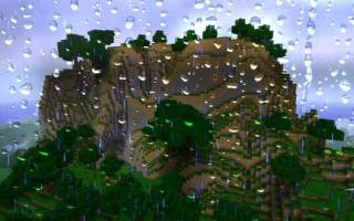 Как в майнкрафте выключить дождь
