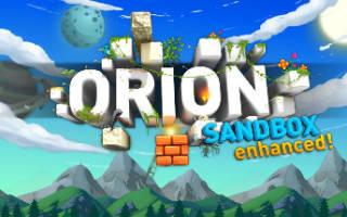 Игры майнкрафт песочница орион втонтакте как запустить игру