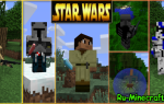 Minecraft mod star wars