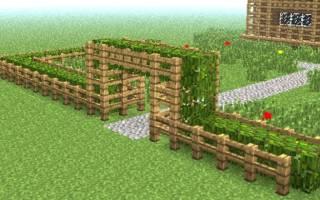 Как сделать забор каменный в майнкрафте