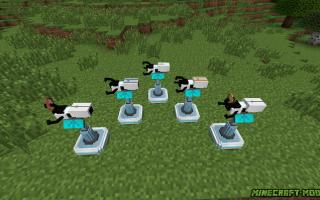Minecraft mod portal gun