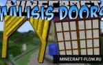 Мод на майнкрафт на двери